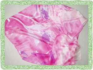 洋纺印花方巾