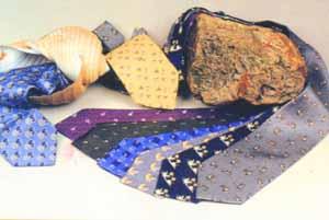 仿真丝领带