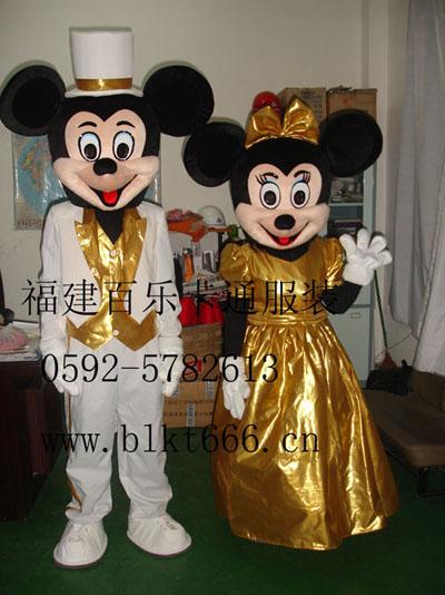 出售福建百乐卡通服装,动漫卡通,迪士尼米老鼠卡通道具服装