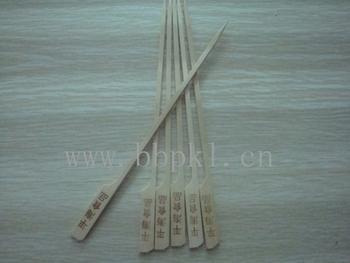 铁炮串,烙字竹签,竹签铁炮串