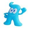 プラスチック縁起玩具(吉祥物塑料玩具)