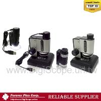 ポータプル式、一台で四種類の顕微鏡