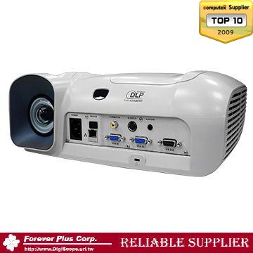超短焦明るさ2500lm高輝度DLP HD プロジェクター
