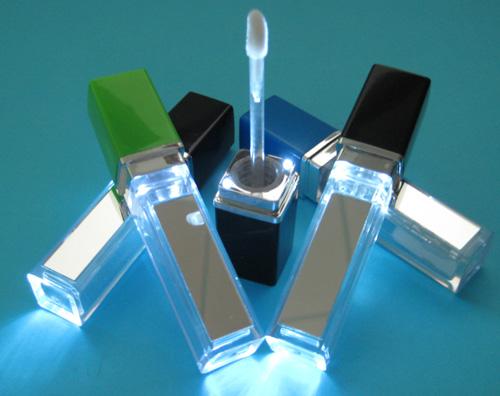 LED燈的唇蜜瓶/带灯唇彩瓶/带灯唇蜜包装