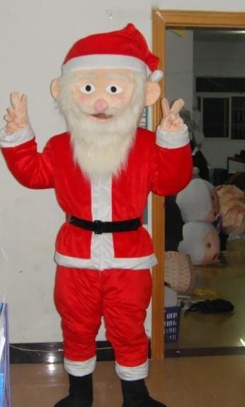 出售卡通服装/毛绒卡通服饰/福建圣诞老人人物演出卡通服装