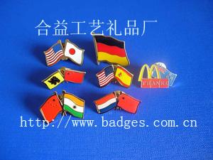 各国国旗徽章/襟章