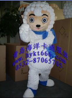 供应山东青岛卡通服装,影视动漫卡通服装喜羊羊