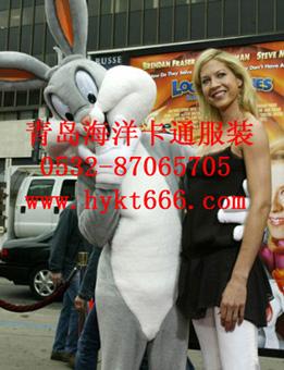山东青岛海洋卡通服装安徽动漫卡通兔八哥
