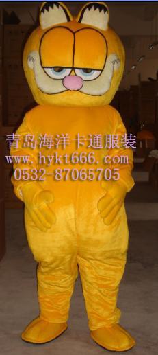 销售山东青岛海洋卡通服装,大连咖啡人偶服装