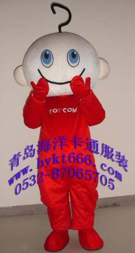 供应山东青岛海洋卡通服装人偶服装吉祥物