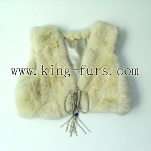 兔毛小背心(6FWC-219-1)