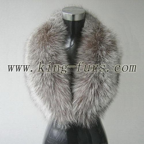 本色银狐毛青果领(6fwc-165-2)
