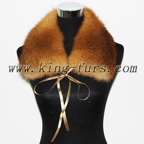 本色红狐毛方领(6fwc-180-5)