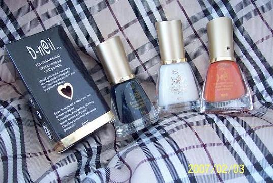 天然水性指甲油