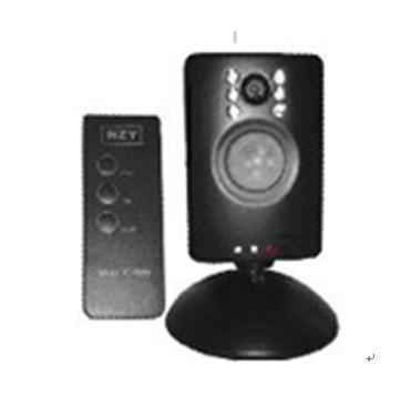 防犯カメラ「赤外線探知ビデオカメラ」