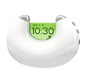 時計付FMラジオ