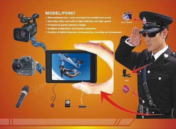 便携式微型数码录像机(D1解析度法律取证级,用于录像,拍照,录音)