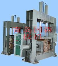 人造板セット機械設備高频弯曲木压力機生産ライン