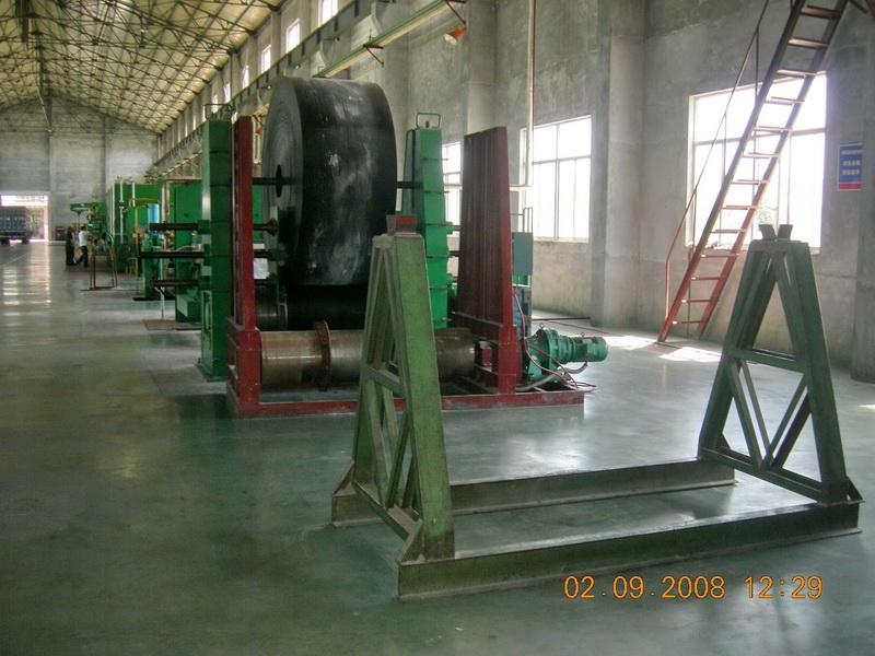 橡胶平板硫化生产线