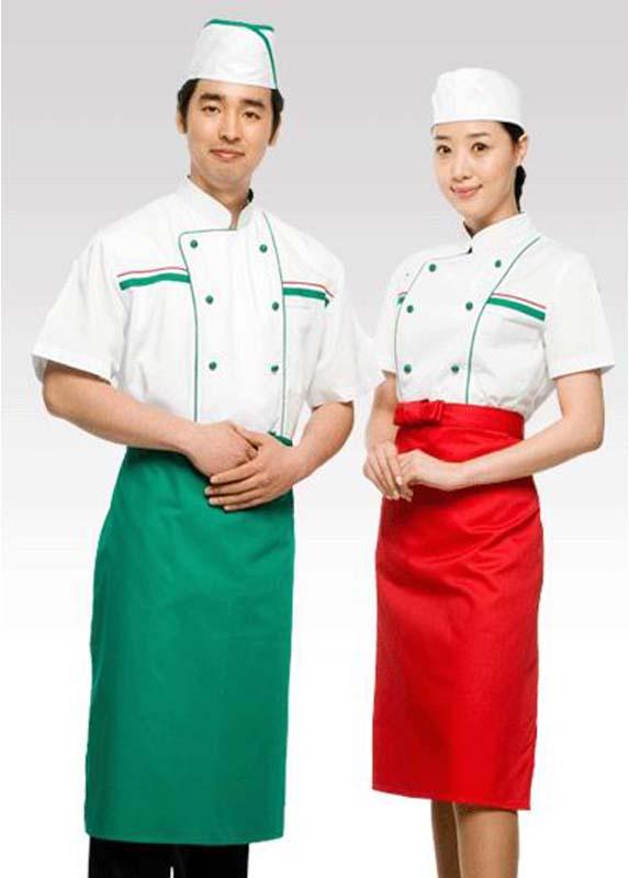 ホテルの仕事着、制服、作業服
