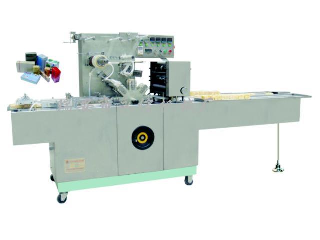 沙琪玛新式透明膜包装机(国内首创)