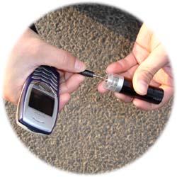 乾電池式ポータブル充電器