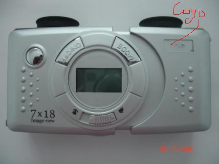 デジタルカメラ付双眼鏡 DC-210