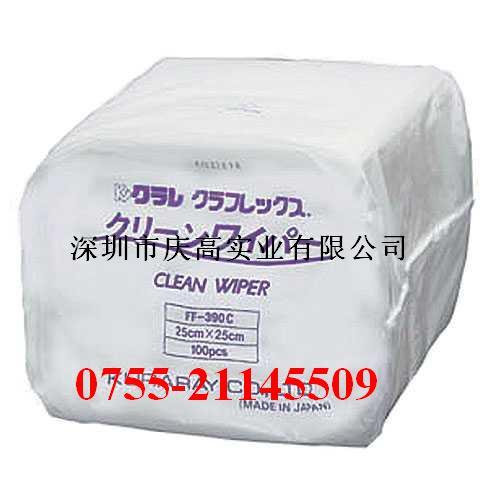 日本KURARAY(可乐丽)株式会社FF-390C无尘擦拭纸