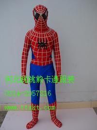 批发内蒙古卡通服装,卡通人偶服装蜘蛛侠