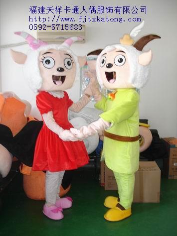 供应福建天祥卡通服装,南京卡通服饰,喜羊羊
