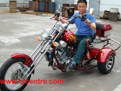 トライク250ccチョッパー( 3つの車輪付きのオートバイ)
