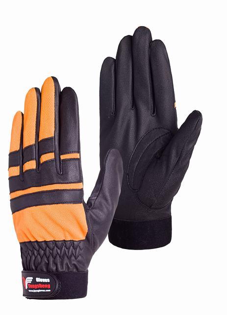 合皮の作業用手袋
