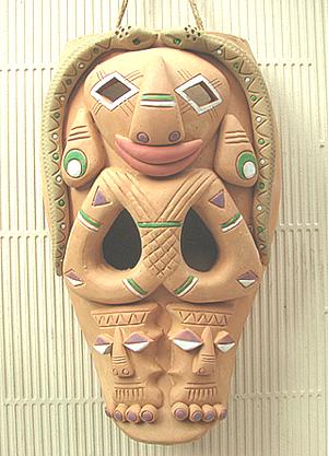009#——高山族のマスク