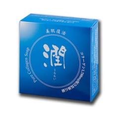 コラーゲン石けん『潤』100g  (日本直销人气产品骨胶原洁面皂『润』(100g))