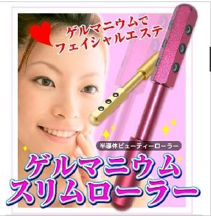 ゲルマニウムローラー  半導体 ビューティーローラ 美顔器 ゲルマ美顔ぺん 美容棒 按摩棒 按摩笔