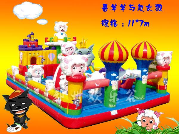 充气玩具县产品