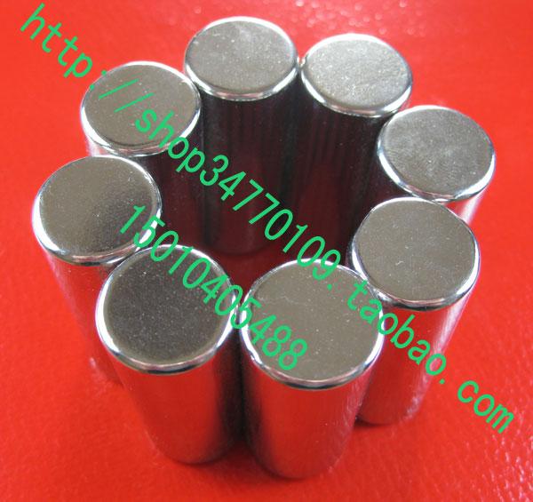 超长圆柱 钕铁硼磁钢 永久磁柱 超强磁铁 柱状磁铁 D6.5*25.5