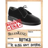 日本直送【ROTHCO】品牌时尚军用牛津鞋【ROTHCO】 HI GLOSS NAVY OXFORDS[【ROTHCO】 HI GLOSS NAVY OXFORDS]