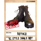日本直送【ROTHCO】品牌超酷高筒防滑皮靴【ROTHCO】 BLACK ULTRA FORCE G.I. STYLE JUNGLE BOOT[【ROTHCO】 BLACK ULTRA FORCE G.I. STYLE JUNGLE BOOT]