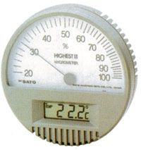 日本佐藤(SATO)7540-00温湿度计