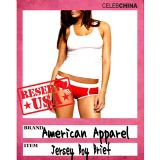 日本直送欧美最新热荐女式低腰弹力全棉内裤【American Apparel】Jersey Boy Brief 8315[【American Apparel】Jersey Boy Brief 8315]